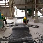 Dịch vụ sửa chữa nối dán băng tải công nghiệp và bọc cao su Rulo