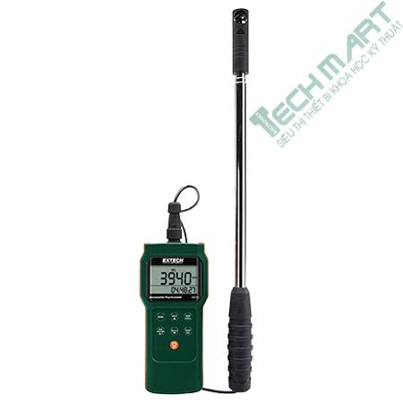 Máy đo tốc độ gió và ghi dữ liệu Extech AN340