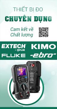 ADS THIET BI DO CHUYEN DUNG N - Máy đo khoảng cách bằng laser với Bluetooth Extech DT500