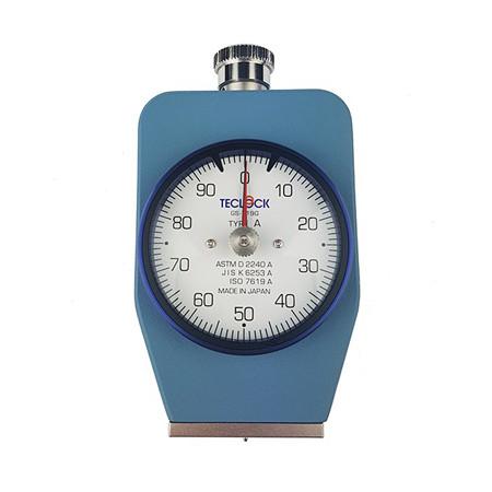 Đồng hồ đo độ cứng cao su Teclock GS-720G Type D (0-44450mN)