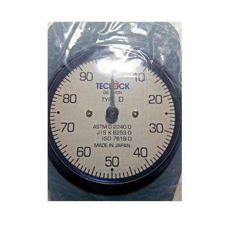 Đồng hồ đo độ cứng cao su Teclock GS-720N Type D (0-44450mN)