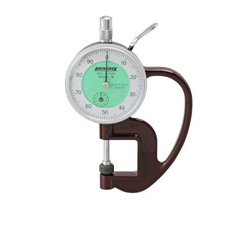 Đồng hồ đo độ dày Peacock G-0.4N (0-10mm)