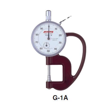 dong ho do do day peacock g 1a 0 10mm - Đồng hồ đo độ dày Peacock G-1A (0-10mm)