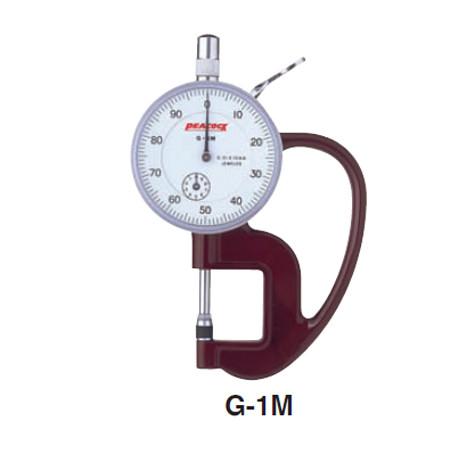 Đồng hồ đo độ dày Peacock G-1M (0-10mm)