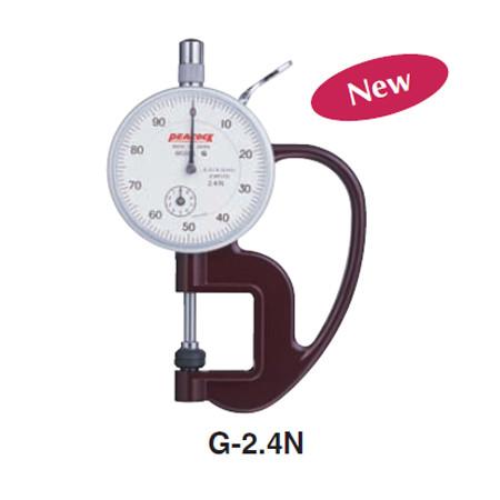 Đồng hồ đo độ dày Peacock G-2.4N (0-10mm)
