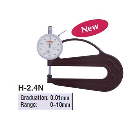 Đồng hồ đo độ dày Peacock H-2.4N (0-10mm)