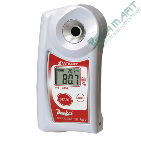 Đồng hồ đo hàm lượng đường Atago PAL-2 (45~93%)