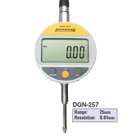 Đồng hồ so điện tử Peacock DGN-257 (0-25mm)