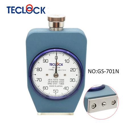 may do do cung cao su teclock gs 701n type c 539 8385mn - Máy đo độ cứng cao su Teclock GS-701N Type C (539-8385mN)