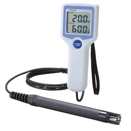 may do nhiet do do am dien tu tiep xuc sato sk 110trh2 type 1 - Máy đo nhiệt độ độ ẩm điện tử tiếp xúc Sato SK-110TRH2 Type 1