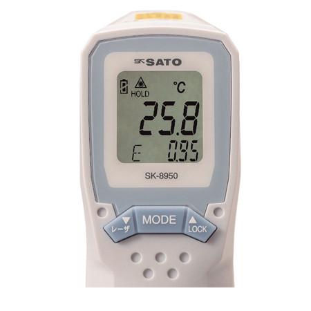Máy đo nhiệt kế hồng ngoại chống nước Sato SK-8950