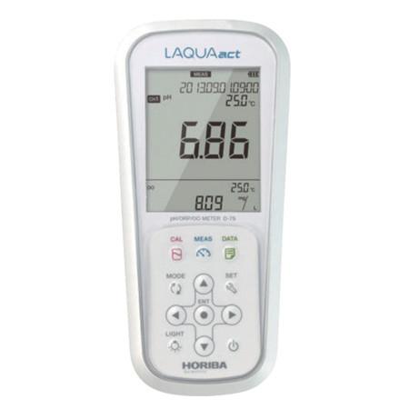 may do ph va mv cam tay horiba d 75s ph 014 2000 den 2000mv - Máy đo PH và mV cầm tay Horiba D-75S (PH 0~14, -2000 đến 2000mV)