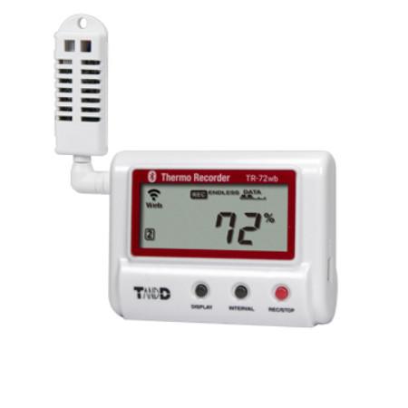 Nhiệt kế ẩm tự ghi TandD TR-72WB (0~55°C, 10 ~ 95%RH)