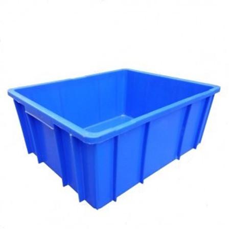 thung nhua cong nghiep b10 495 x 395 x 235 mm - Thùng nhựa công nghiệp B10 495 x 395 x 235 mm