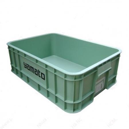 Thùng nhựa đặc công nghiệp B1 630x420x200 mm