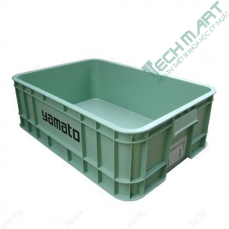 thung nhua dac cong nghiep b1 630x420x200 mm - Thùng nhựa đặc công nghiệp B1 630x420x200 mm