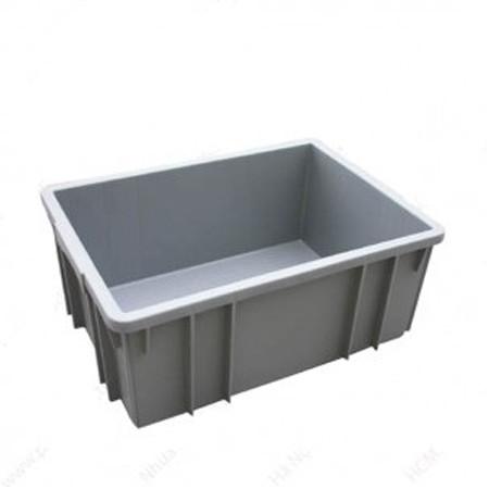 Thùng nhựa đặc công nghiệp B3 460x330x182 mm