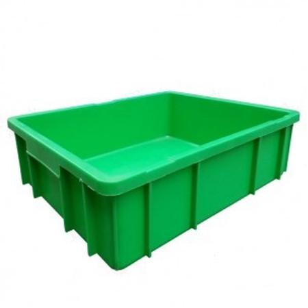 Thùng nhựa đặc công nghiệp B9 495x395x125 mm
