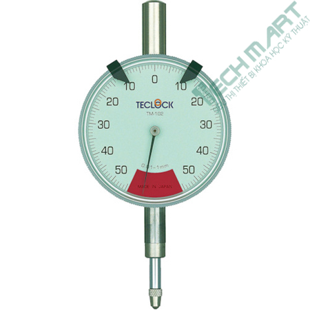 dong ho so teclock tm 102 0 1mm - Đồng hồ so Teclock TM-102 (0-1mm)