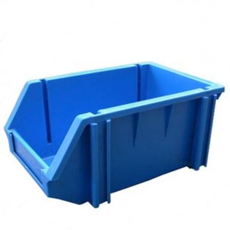 khay nhua cong nghiep a6 240 x 155 x 125 mm - Khay nhựa công nghiệp A6 (240 x 155 x 125 mm)