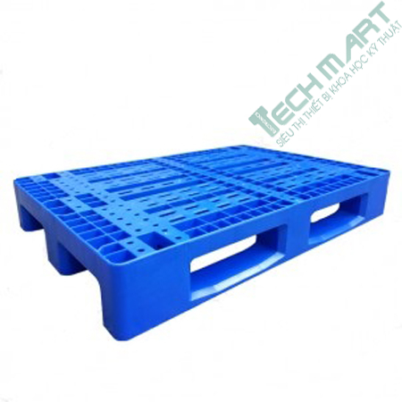 pallet nhua cong nghiep pl01lk mau xanh - Pallet nhựa công nghiệp PL01LK màu xanh
