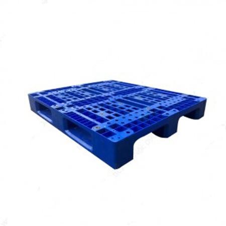 Pallet nhựa công nghiệp PL10 màu xanh dương