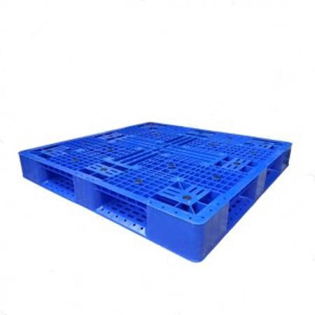 Pallet nhựa công nghiệp PL16LK màu xanh