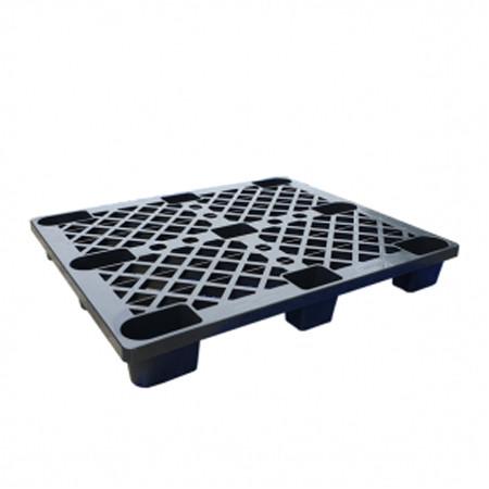 pallet nhua cong nghiep plc 01 mau den 1200 x 1000 x 150 mm - Pallet nhựa công nghiệp PLC-01 màu đen (1200 x 1000 x 150 mm)