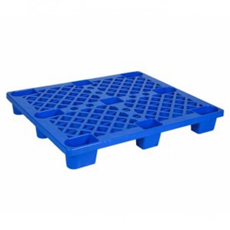 pallet nhua cong nghiep plc 01 mau xanh - Pallet nhựa công nghiệp PLC-01 màu xanh