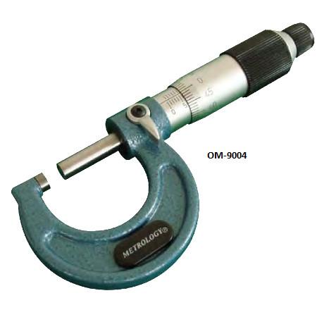 panme do ngoai co khi metrology om 9004 75 100mm 0 01mm - Panme đo ngoài cơ khí Metrology OM-9004 (75-100mm/0.01mm)