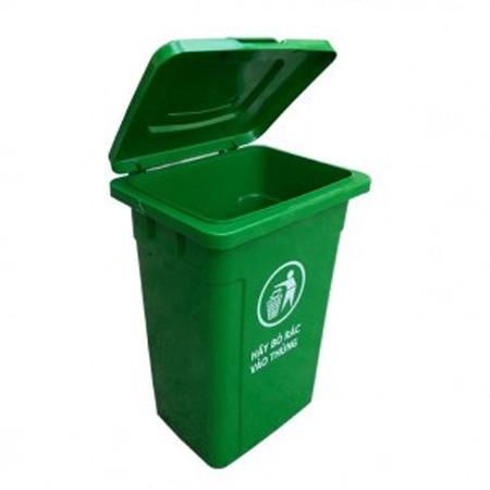Thùng rác nhựa công nghiệp 90 lít