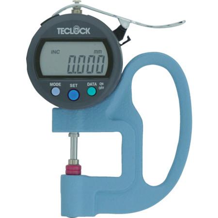 Đồng hồ đo độ dày điện tử Teclock SMD-565J-L (0-12mm/0.001mm)