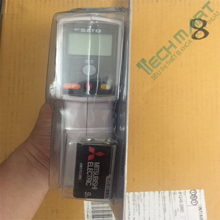 Máy đo nhiệt kế hồng ngoại Sato SK-8700II (-20°C to 315°C)