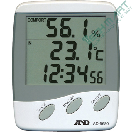 Nhiệt ẩm kế điện tử AND AD-5680