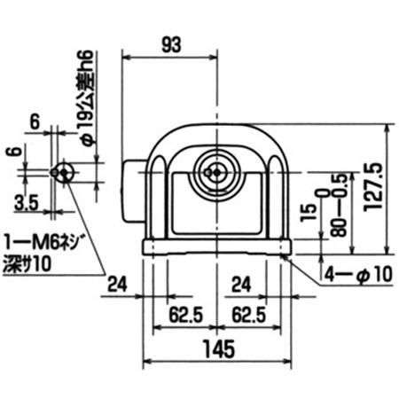 Motor giảm tốc chân đế Mitsubishi GM-S 0,4KW 1/5