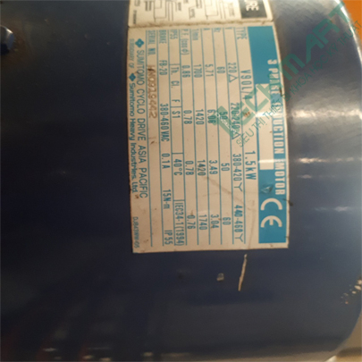 Motor giảm tốc Sumitomo mặt bích CNVM2-6105-B-11