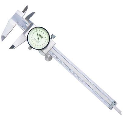 thuoc cap dong ho insize 1312 200a 0 200mm 0 02mm - Thước cặp đồng hồ Insize 1312-200A (0-200mm/0.02mm)