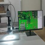 Kính hiển vi phóng đại SPB5-4502M có chức năng đo (28X-180X)