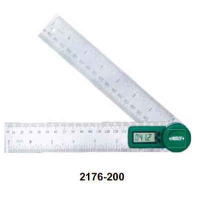 Thước đo góc Insize 2176-200 (0-360 độ)