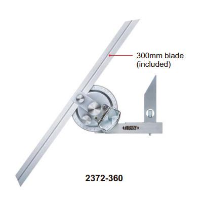 Thước đo góc Insize 2372-360 (0-360 độ)
