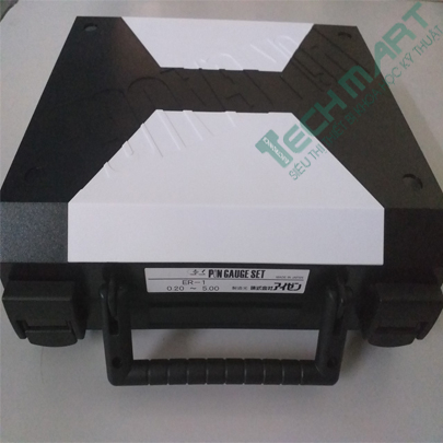 Dưỡng kiểm tra lỗ Pin gauge Eisen ER-1 (0.20~5.00mm/0.1mm)