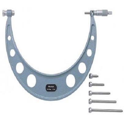 Panme đo ngoài cơ khí (với đầu đo có thể thay đổi) Mitutoyo 104-142A (300-400mm/ 0.01mm) MITUTOYO 104-142A