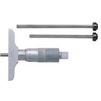 Panme cơ khí đo sâu (thay đổi đầu đo) Mitutoyo 129-110 (0-75mm/ 0.01mm)
