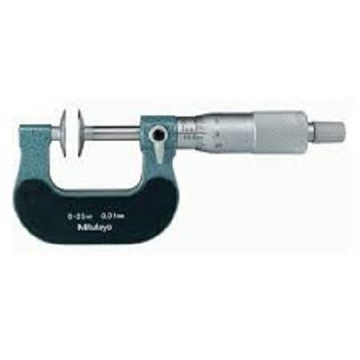 Panme đo bước răng cơ khí Mitutoyo 123-102 (25-50mm/ 0.01mm)