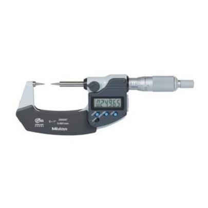 Panme đo ngoài điện tử đầu nhọn Mitutoyo- Nhật Bản, 342-251-30, 0-25mm, 0.001