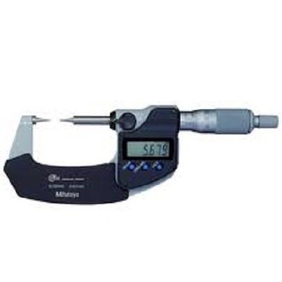 Panme đo ngoài điện tử đầu nhọn Mitutoyo 342-261-30 (0-25mm/ 0.001mm)