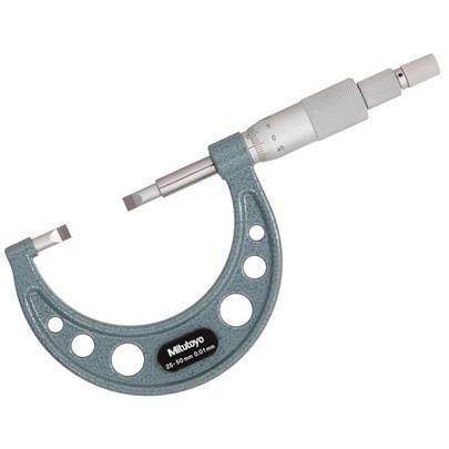 Panme đo ngoài rãnh Mitutoyo 122-102 (50~75mm/0.01mm)