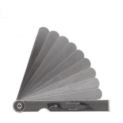 Bộ dưỡng đo bề dày Mitutoyo 184-302S (0.03-0.5mm/13 lá/150mm)