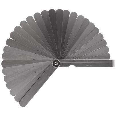 Bộ dưỡng đo bề dày Mitutoyo 184-303S (0.05-1mm/ 28 lá/150mm)