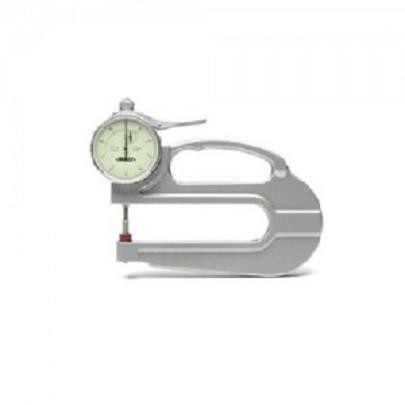 Đồng hồ đo độ dày Insize 2365-10 0~10mm 0.01mm họng sâu 120mm
